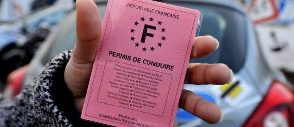 Permis de conduire français - AFP PHOTO MYCHELE DANIAU